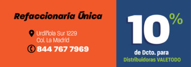 SALT404_AUT_REFACCIONARIA_UNICA_DCTO