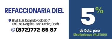 SP119_AUT_REFACCIONARIA_DIEL_DCTO