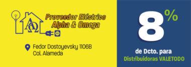 CH431_FER_PROVEEDOR_ELECTRONICO_ALPHA&OMEGA_DCTO